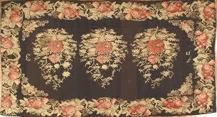 Stark Rug Traditional Rug Floral Pattern Wool Rectangular 49316d