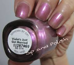 sephora by opi polishes swatches sip and polish
