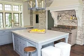 kitchen backsplash brick kitchen with brick backsplash bartarin site