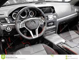 mercedes showroom interior mercedes benz c207 e class editorial stock photo image 49877663