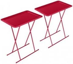 Folding Tray Table Set Metal Folding Tray Table Foter