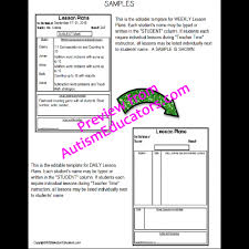 frills editable forms with lesson plans and schedule templates for