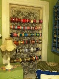 ribbon display pollyanna reinvents window turned craft ribbon display