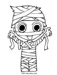 Free Printable Coloring Pages For Halloween by Trash Pack Skummy Mummy Coloring Page Free Printable Coloring