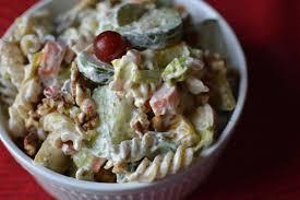 pasta salad recipe yoghurt salad cold pasta salad summer
