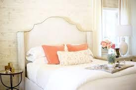 tulsa oklahoma united states white upholstered headboard bedroom