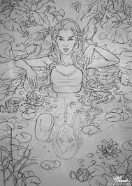 sketch fountain of youth by giselleukardi on deviantart