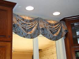 before and after kitchen valance a little design help