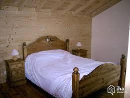 chambre chalet montagne location chalet à sainte foy tarentaise iha 1759