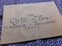how to address wedding invitations without an inner envelope