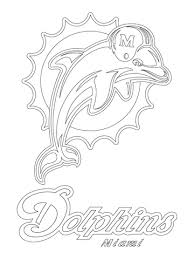 oakland raiders coloring pages miami dolphins awesome logo coloring page sports football nfl