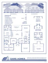 Homes For Sale With Floor Plans The Preserve Adams Homes