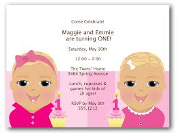 twins birthday party invitations archives personalized