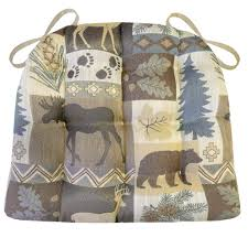 dining chair cushions with ties wilderness summit lake dining chair pads with ties latex foam
