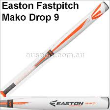 mako softball bat easton fp15mk9 mako drop 9 fastpitch softball bat bats