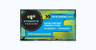 Fitness Business Card Template 25 Graphic Design Examples Of Business Cards Stocklayouts Blog