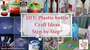 how to make things from plastic bottles k4 craft
