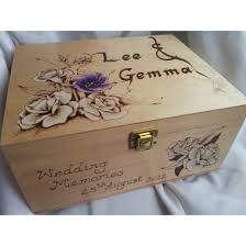 wedding keepsake box personalised wooden wedding gift keepsake box imbusy for