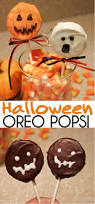 cute halloween oreo pops pumpkins ghosts and monsters oh my
