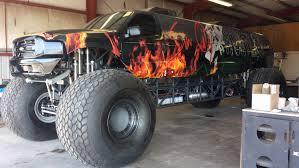 las vegas monster truck show coolest wraps vegas sin city hustler monster truck build