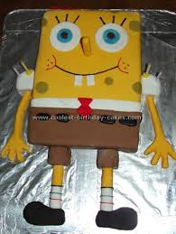 coolest spongebob birthday cake ideas