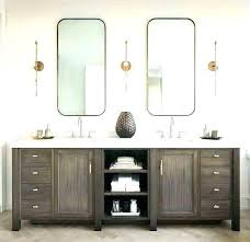 mirror ideas for bathroom double vanity mirror full size of ideas double vanity framed