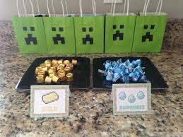minecraft goody bags my 3 monsters lifewithkids ages 2 4 5 years