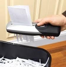 broyeur papier bureau broyeur papier portatif usb ou piles amazon fr fournitures de bureau