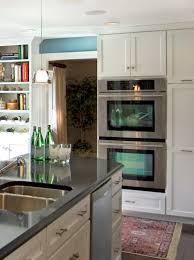 Philadelphia Main Line Kitchen Design Double Oven Stacked Main Line Kitchen Renovation U2013 On The Level