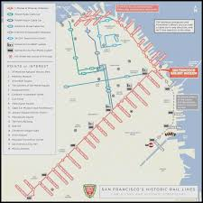san francisco map cable car san francisco muni map america u0027s cup may be scaled but
