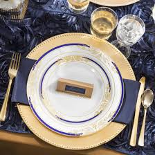 Navy Blue Table Runner Navy Blue Satin Rosette Table Runner Gone Smarty Had A Party