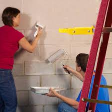 amazing basement wall paint sealer apply basement wall paint