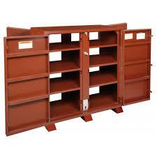 4 Door Cabinet Jobox 1 695990 Heavy Duty 4 Door Utility Cabinet With Door