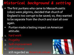 the scarlet letter introduction u0026 historical background setting
