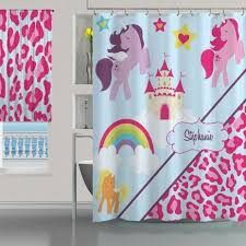 Pink Cheetah Print Curtains 23 Best Shower Curtains Images On Shower Curtains
