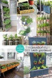 herb planter diy the curated eight diy herb gardens