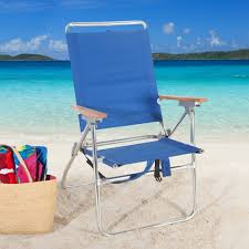 Amazon Beach Chair Amazon Com Rio Hi Boy Backpack Beach Chair With Cooler Patio
