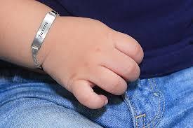 Baby Name Bracelets Gold Baby Bracelet