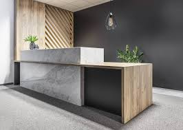 Designer Reception Desk Gallery Of Office Space In Poznan Metaforma 13 Office