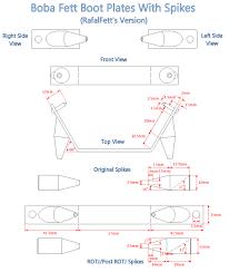 rafalfett u0027s misc templates and blueprints boba fett costume and