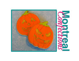 halloween cookie decorating how to decorate a pumpkin cookie