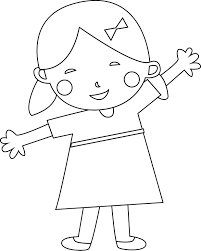 child coloring page wecoloringpage
