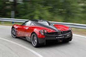 pagani huayra red pagani huayra as powerful as it should be if not why not autocar