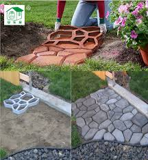 free shipping path mate diy pavement mold for