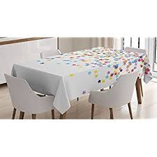 themed table cloth ambesonne house decor tablecloth falling shaped