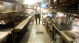 cuisine d une chinoise l état dégoutant de la cuisine d un restaurant chinois