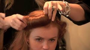 easy burlesque hairstyle another 3 minute hairstyle by sharryn
