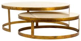 gold nesting coffee table gold nesting coffee table traversetrial