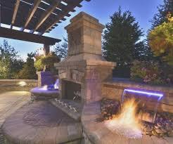 fireplace unilock tuscany fireplace fireplaces