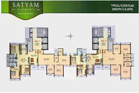 Harmony Floor by Satyam Developers Harmony In Panvel East New Projects By